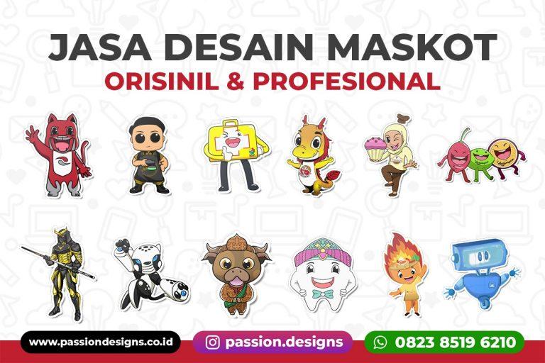 Jasa Desain Maskot Orisinil dan Profesional